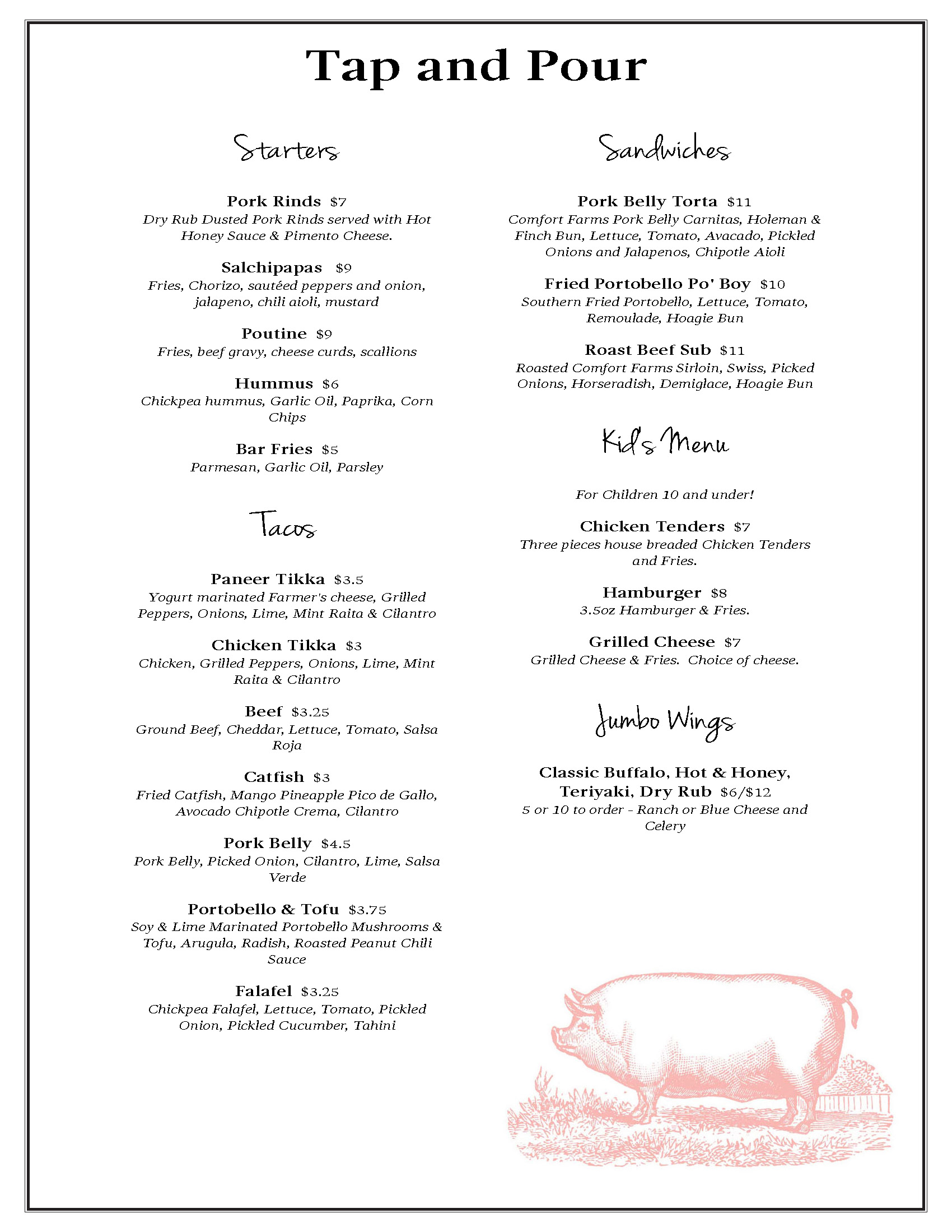 Tap and Pour menu_Page_1